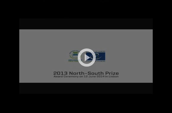 2013 North-South Prize of the Council of Europe - Lisbon Ceremony (Suzanne Jabbour)